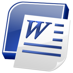 Microsoft Word 2007 Icon